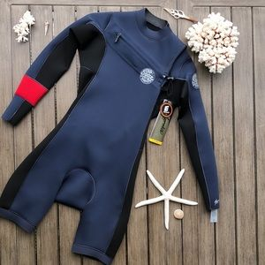 🌴🔆RIP CURL- AGGRO LONG SLEEVE 6MM WET SUIT🔆🌴